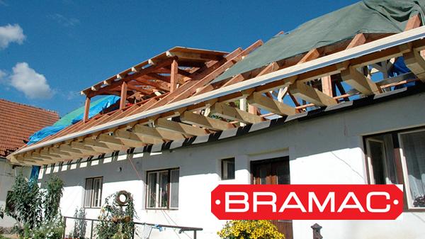 Rekonstrukce krovu a střechy Lčovice, Bramac Alpská Classic