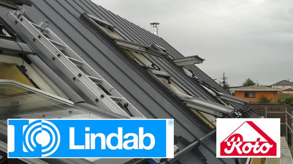 Lindab CLICK, Roto střešní okna
