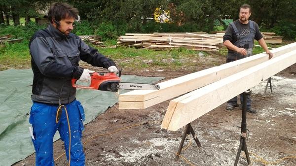 Tesařské práce, výroba krovů klasickým způsobem či na CNC stroji